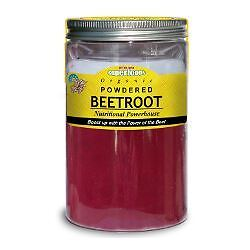 6 Packs of Of The Earth Organic Beetroot Powder 250g