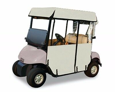 E-Z-Go EZGO RXV 3-Sided Over-the-Top Enclosure - Oyster