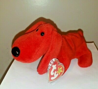 Ty Beanie Baby ~ ROVER the Red Dog ~ MINT with MINT TAGS ~ RETIRED