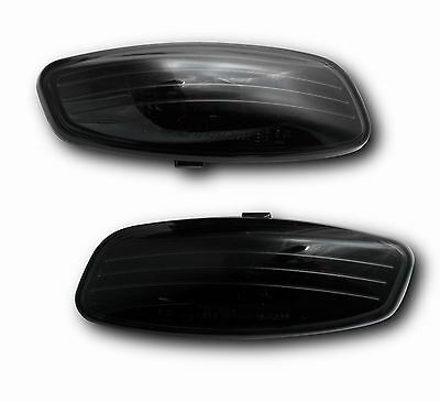 Citroen C4 Picasso 07- Side Indicators Wing Repeaters Crystal Black