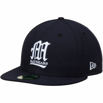 Mobile Bay Bears New Era Alternate 2 Authentic 59FIFTY Fitted Hat - Navy - MiLB