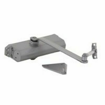 Mintcraft C501-AB-SA-AS 240LB Commercial Silver Pewter Door Closer