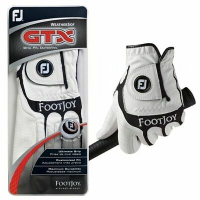 6 PACK Ladies FootJoy GTX Fashion Golf Glove White/Black CLEARANCE 2013