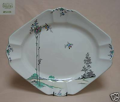 "Shelley ""Balloon Trees"" 15.25""  SERVING PLATE."
