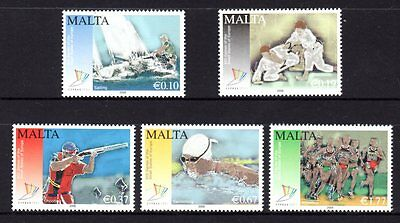 Malta 2009 13th Games of the small states of Europe Set 5 MNH
