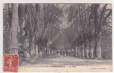 CPA 37530 SAINT OUEN le Mail animé Edit PRINET ca1908
