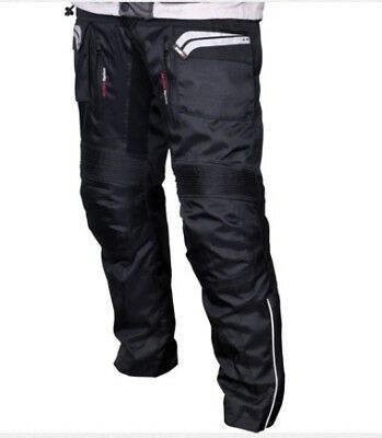 Tuzo Outback Wp Waterproof Motorbike Motorcycle Pants Ce Armoured Knees Trousers