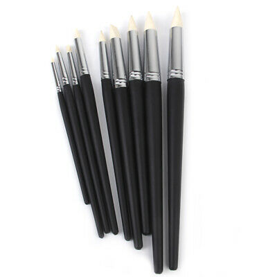 Silicone Color Shapers Clay Sculpting Tools Rubber Brushes for Polymer OOAK Doll