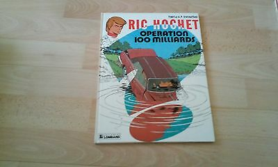 Ric Hochet Tome 29 Operation 100 Milliards