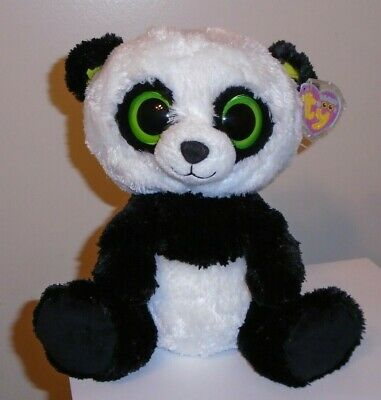 MWMT Ty Beanie Boos ~ SWEETLY the Valentine Bear 9 Inch ~ Medium Buddy Plush