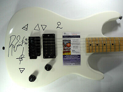Signed Ghost Autographed Guitar All 6 Certified Papa Ii (Full Name) Jsa # J32784