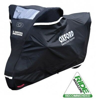 Oxford Stormex Waterproof Motorcycle Cover Small,Medium,Large or XL