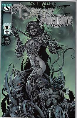 Darkness Witchblade #1 Platinum Cover NM- or better (1999)