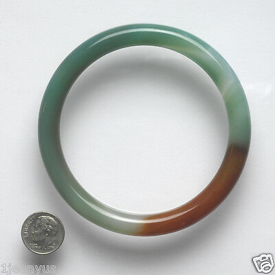 Large Antique Chinese Sewing Basket Jadeite? Glass Bangle Betty Lou Collection 6