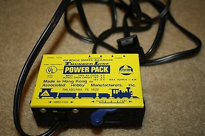 Vintage AHM Model 70206 Thunder Line Power Pack Transformer HO Scale Model Train