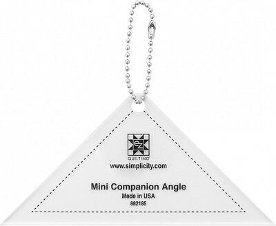 EZ Mini Companion Angle Quilting Template Keychain (882185)