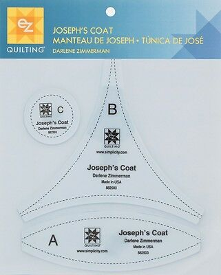 EZ Josephs Coat Acrylic Quilting Template (882503)