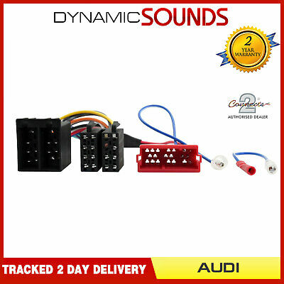 CT20AU09 Wiring Harness Adaptor For Audi A2,A3,A4,A6,A8 Half Amplified System