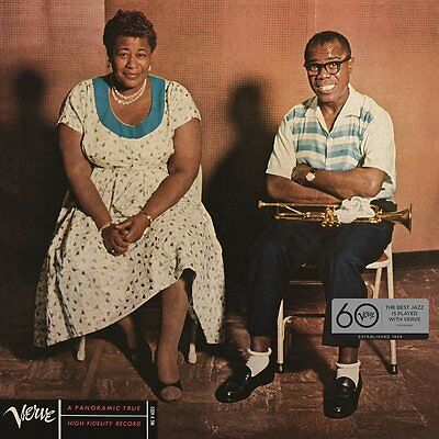 Fitzgerald And Armstrong Ella And Louis 12 Inch Lp Vinyl New 33Rpm