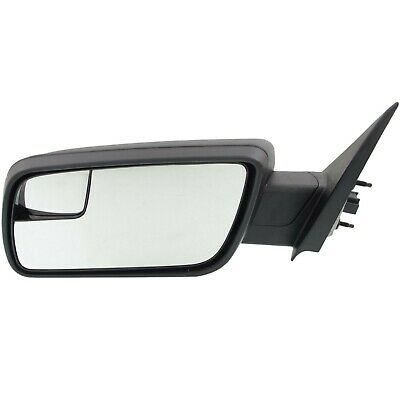 Power Mirror For 2013-2016 Ford Escape Left Side Manual Fold Textured Black