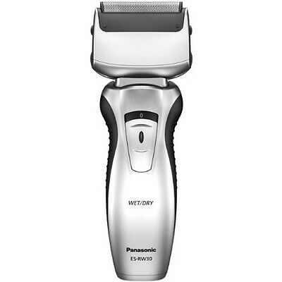 Men Panasonic Wet and Dry Twin-Blade Rechargeable Shaver Pivoting Head Grooming