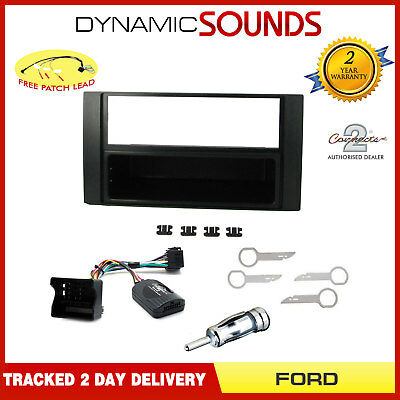 CT24FD10 Double Din Radio Stereo Fascia Facia Fitting Kit For Ford Transit 06-12
