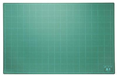 A1 (900mm X 600mm) SELF HEAL CUTTING MAT NON SLIP PRINTED GRID ARTS AND CRAFTS