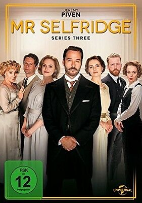 Mr.selfridge-Staffel 3 - Jeremy Piven, Frances O´connor, Zoe Tapper 3 Dvd Neu