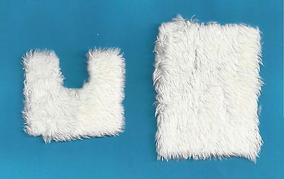 Dollshouse 1/12Th  Scale  Bath Mat 2 Pc Set
