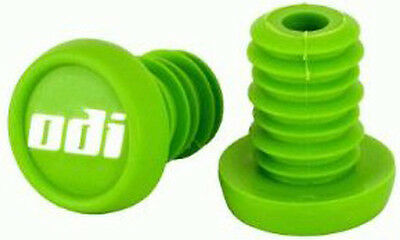 Odi Push In Bar End Plug – Green single —->SOLD AS SINGLES<----