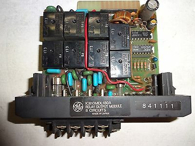Ge Fanuc Ic610Mdl180A Relay Output Module 8 Circuits Used