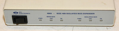 ICS Electronics 4860 IEEE 488 Isolated Bus Expander & (2) GPIB Cables