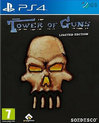 Tower Of Guns Limited Steelbook Edition PS4 * NEW SEALED PAL *