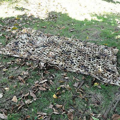 Hunting Camping Military Camouflage Net Woodlands Leaves Camo netting Cover 1x2m