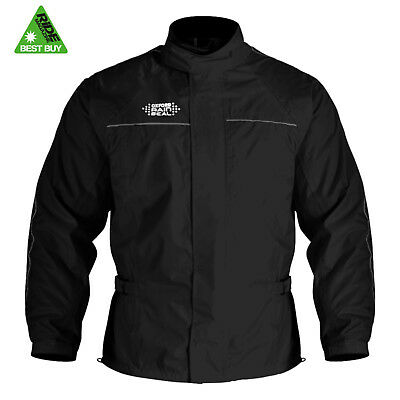 Oxford RAINSEAL Waterproof Motorcycle Fully Lined Over Jacket Top Magazine Rated