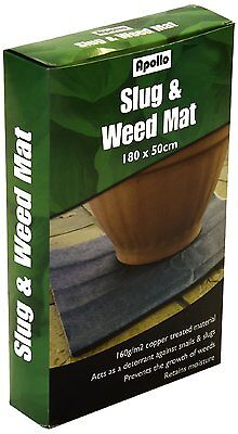 Slug & Weed Mat Prevents Growth of Weeds Retains Moisture 180cm x 50cm #27D175