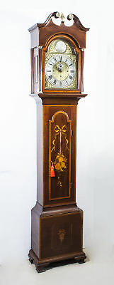 Antique Longcase Clock Chiming on Bells - 19th Century