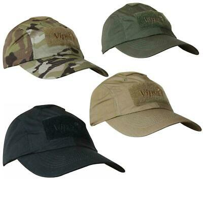 Viper Elite Tactical Baseball Hat Velcro Panel Airsoft Army Style