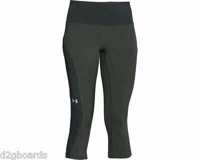 2016 NWOT Under Armour UA Armourvent Compression Pant Pants Womens S Small fx456
