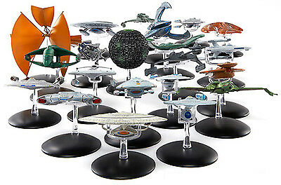 Star Trek Raumschiff Modelle - Metall TOS TNG Voyager DS9 Enterprise Movies lose