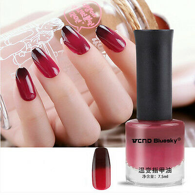 7.5 ml Nail Art Vernis à Ongle Thermique Couleur Changeable Polish Changing #4