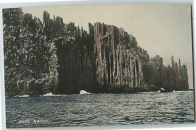 Antique Postcard Cape Raoul Tasmania