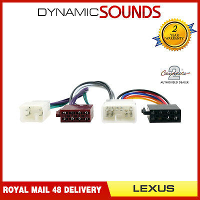 CT20TY01 Wiring Harness Adaptor ISO Loom For Lexus GS300 IS200 IS300 SC300 SC400