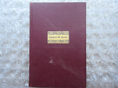 Old 1928 Book Charles Ricketson Allen Cause of Vocational Education