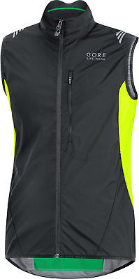 Gore Bike Wear Element Windstopper® Active Shell Vest Black/neon Yellow 2016