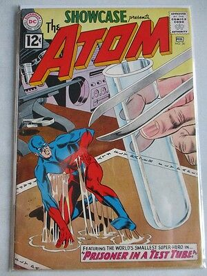 Showcase (1956-1978) #36 GD/VG (Cover Detached) 3rd Atom