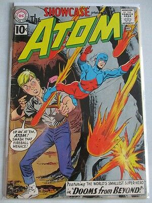Showcase (1956-1978) #35 VG/FN 2nd Atom