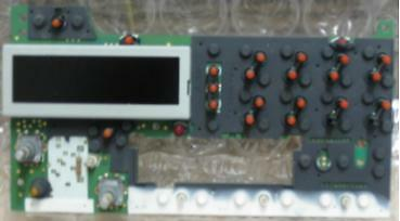 Pontiac CD radio DISPLAY BOARD. LCD lights burnt out? This OEM part fixes it
