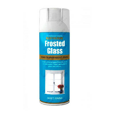 x5 Rust-Oleum Frosted Glass Aerosol Spray Paint Semi-Transparent Window Etching