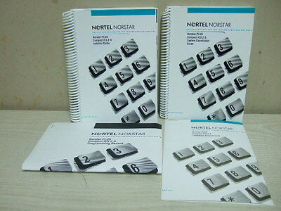 Nortel Phone System Norstar-Plus Compact Ics 2.0 Installer System Guide Manual